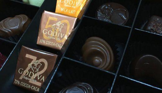 チョコレート早見表